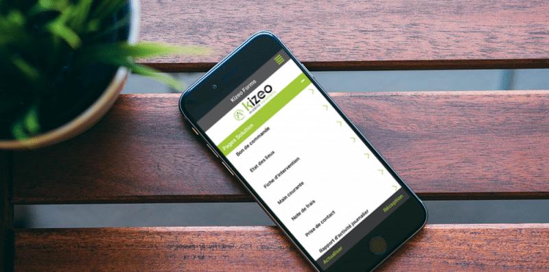 Kizeo Forms - Application pour mobiles et tablettes
