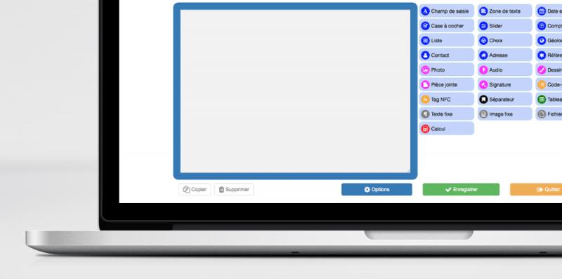 Kizeo Forms - Back office : les fonctionnalités