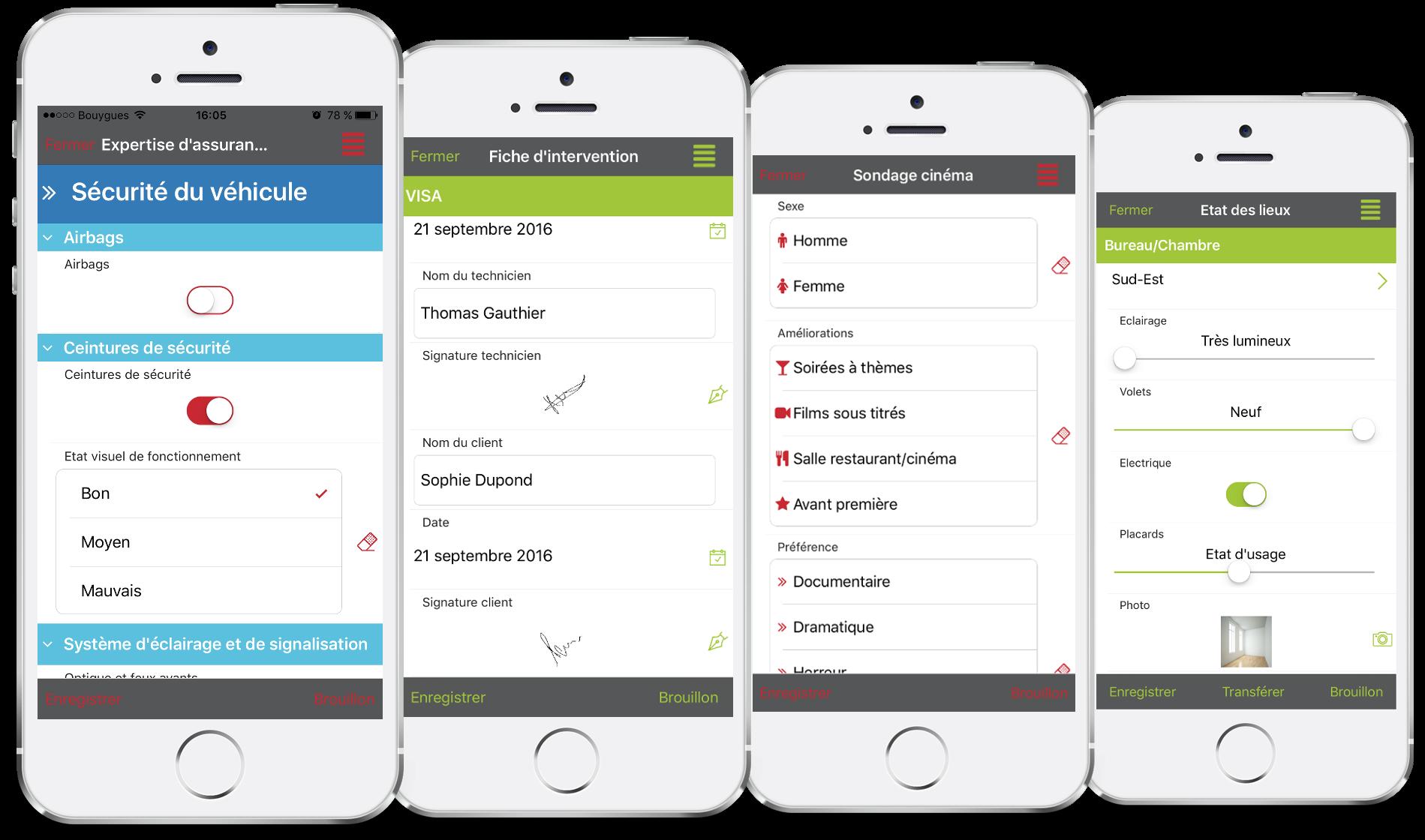 Vos formulaires sur mobile avec Kizeo Forms.