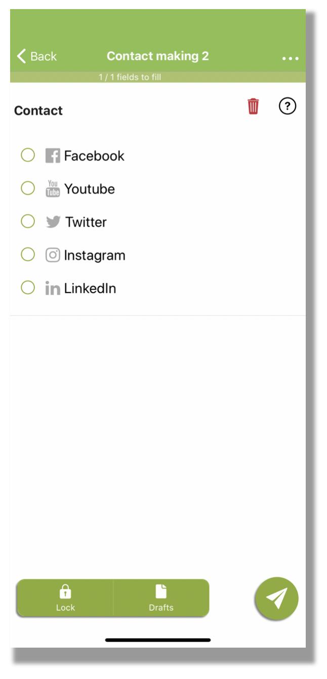 Customise your choice fields