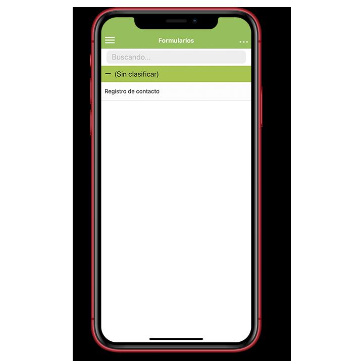 Tu primer formulario en tu aplicación Kizeo Forms.