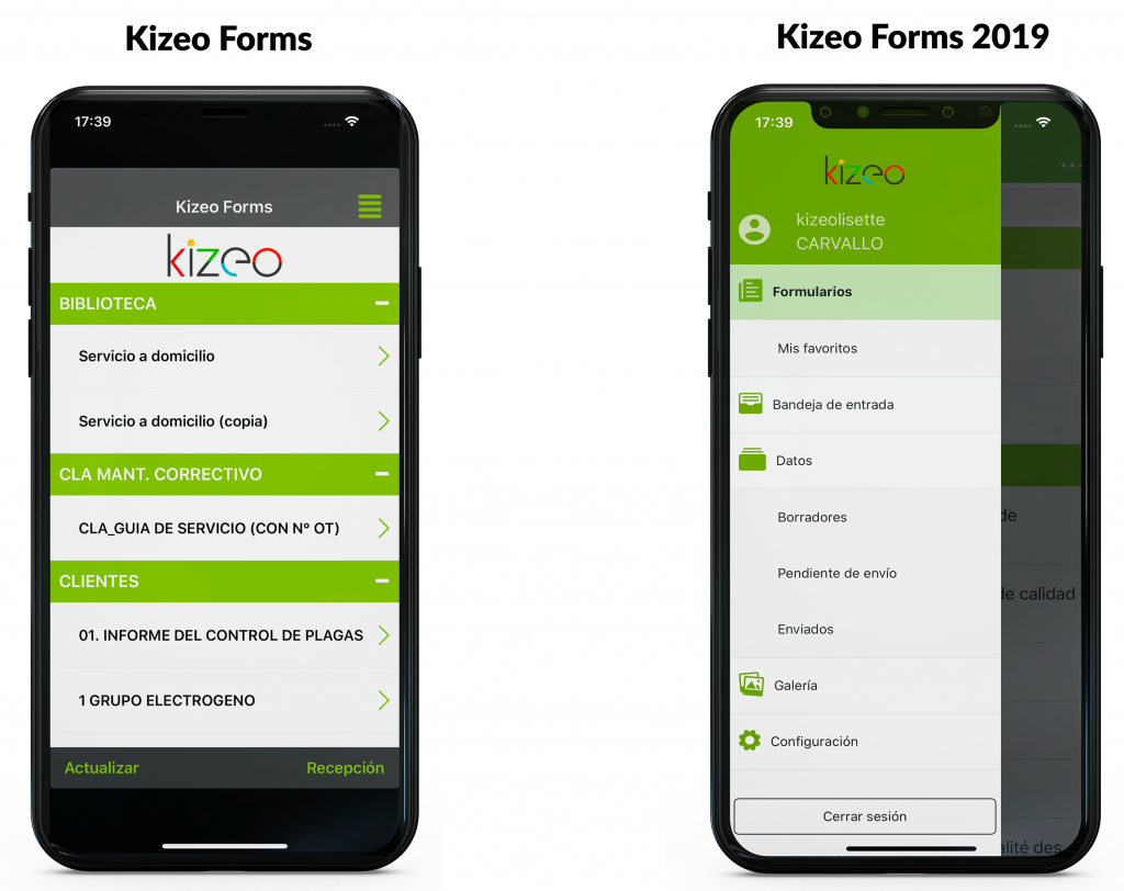 App Kizeo Forms