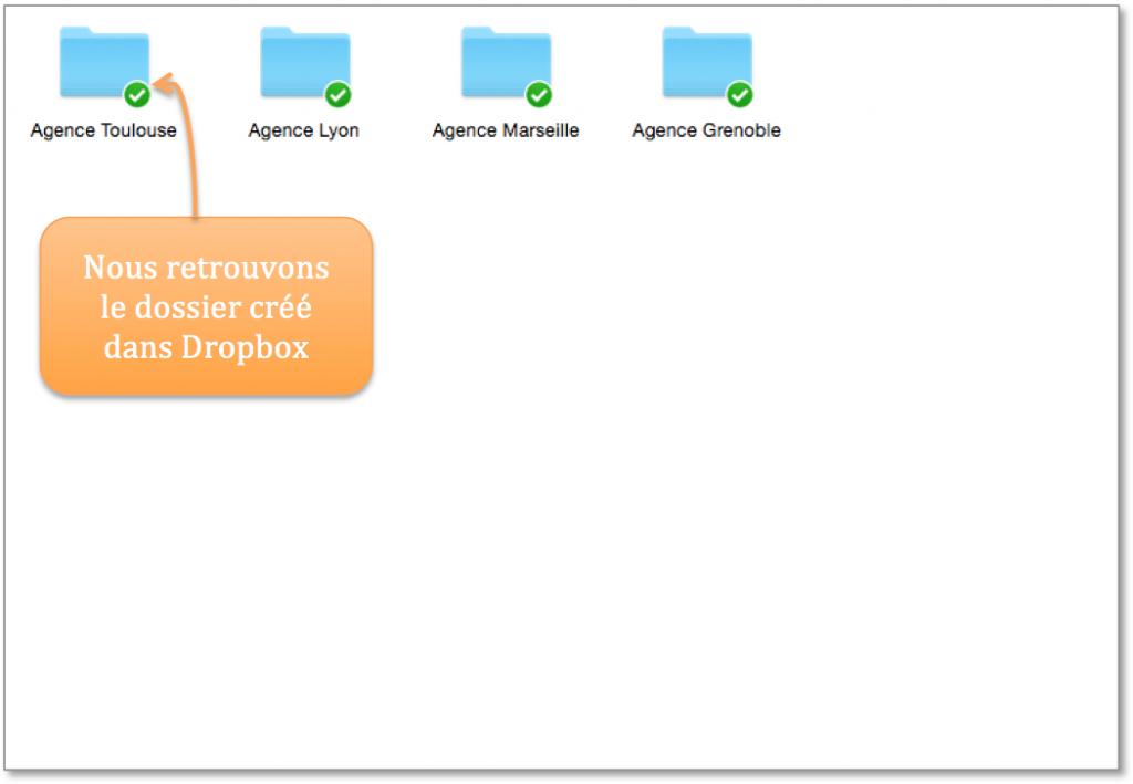 Vos dossiers Kizeo Forms dans Dropbox.
