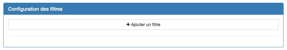 Configurez des filtres pour vos graphiques.