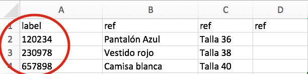 Creación de la lista de atributos asociada a un Tag NFC.