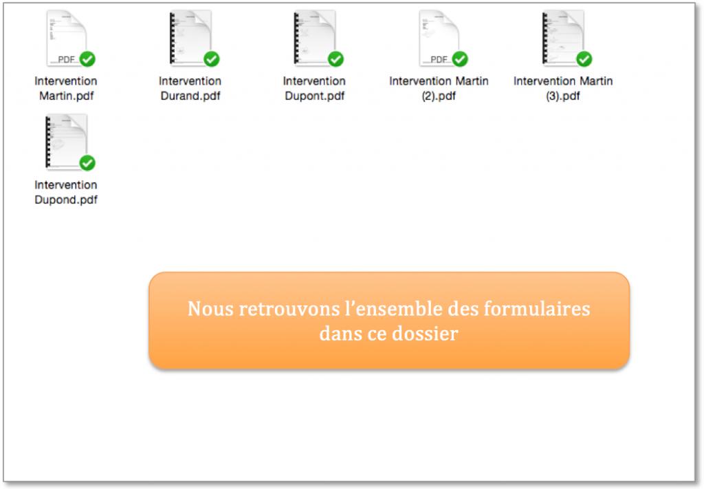 Vos données Kizeo Forms dans vos fichiers Dropbox.