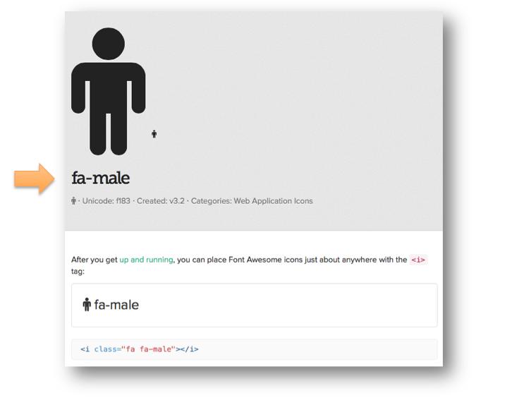 Un exemple d'icône.