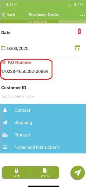 the uniq number