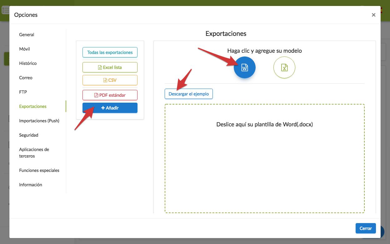 Crear un documento Word personalizado