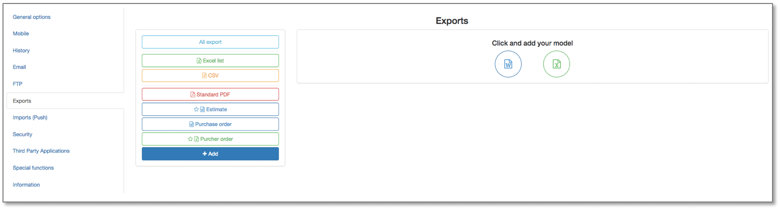 new feature kizeo forms multi export