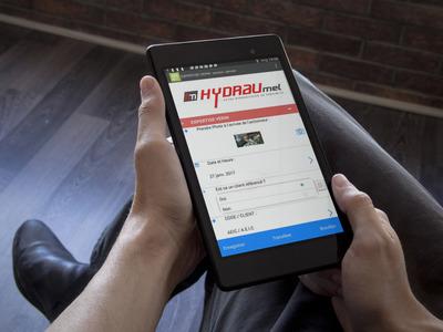 Hydraumel utilise les formulaires numériques avec Kizeo Forms