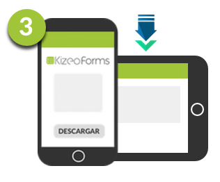 Download the Kizeo Forms App