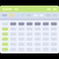 Tabla en formulario digital