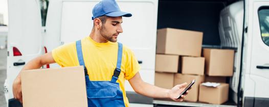 Comprobante de entrega digital compañías de transporte