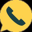 Phone call from external list