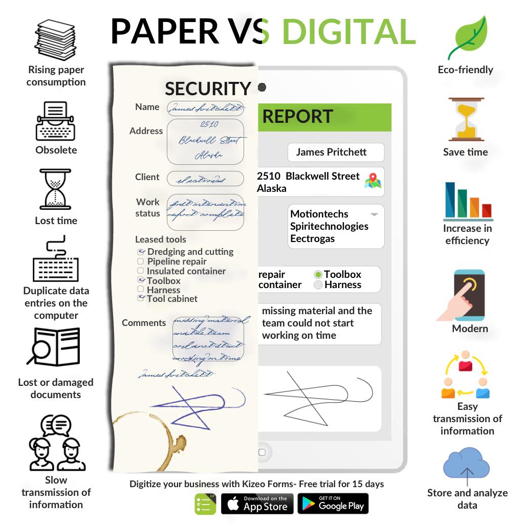 paper versus digital