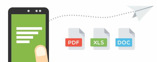 Exportez vos documents dans différents formats