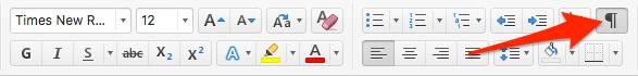 Activar opción visualización en Word