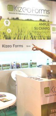 Demostración de Kizeo Forms en la feria Fruit Attraction
