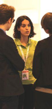 Charla después de la conferencia en el foro Innova