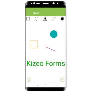 Sketch element - Kizeo Forms