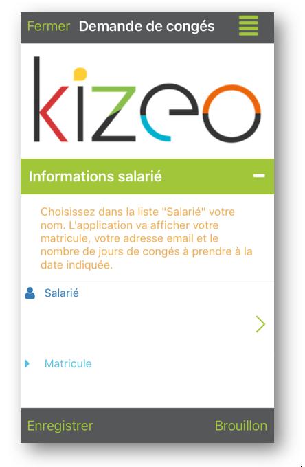 Affichage du logo sur le mobile