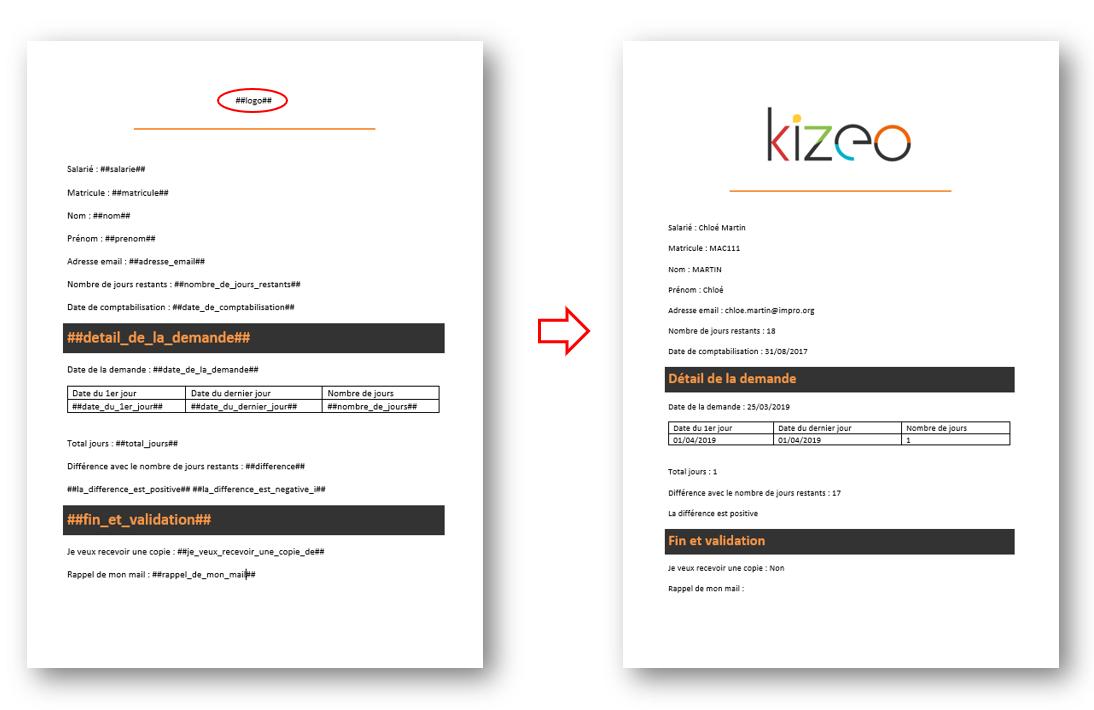 Exemple document et resultat