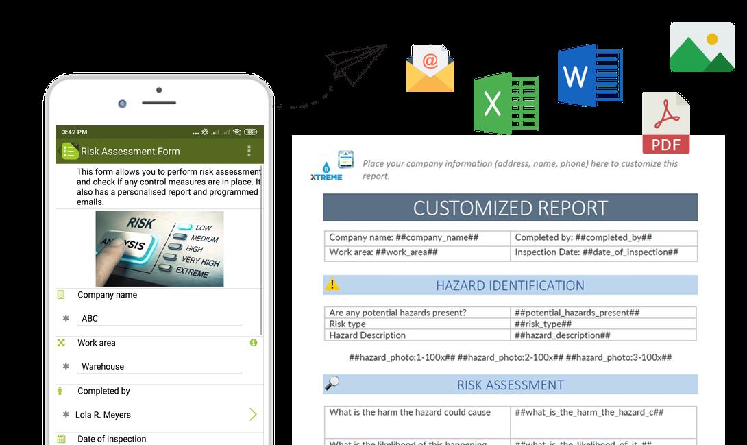 Send custom reports