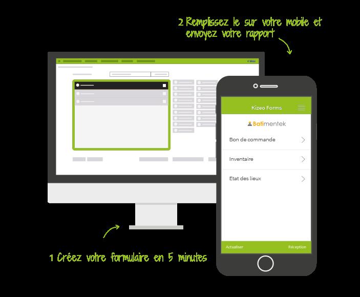 Avec Kizeo Forms, créez sur vos mobiles et tablettes l'équivalent de vos formulaires papier !