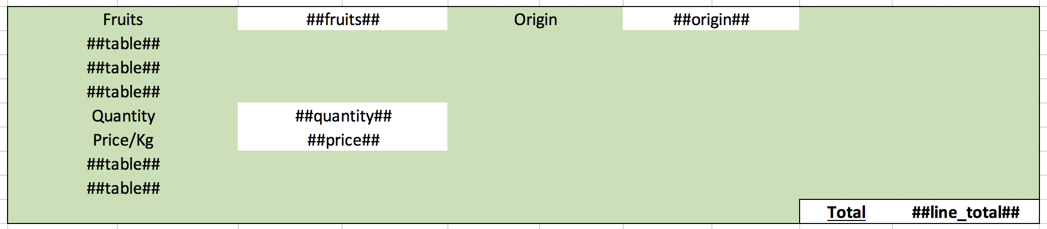 Bulk data with empty lines