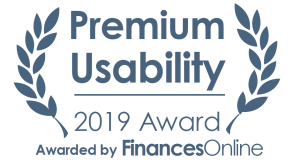 Badge Premium Usability 2019 Award Kizeo Forms