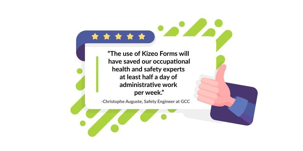 Save haf a day of administrative work per week with Kizeo Forms