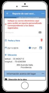 aplicación para reportar incidencias