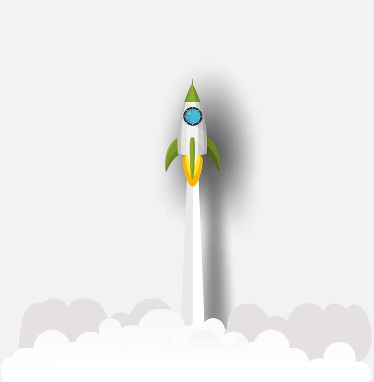 La fusée de la digitalisation.