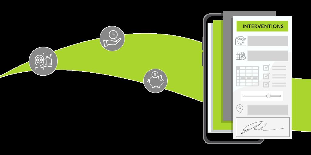 Votre gestion d'intervention sur mobile