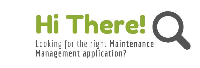 Looking for the right maintenance management application