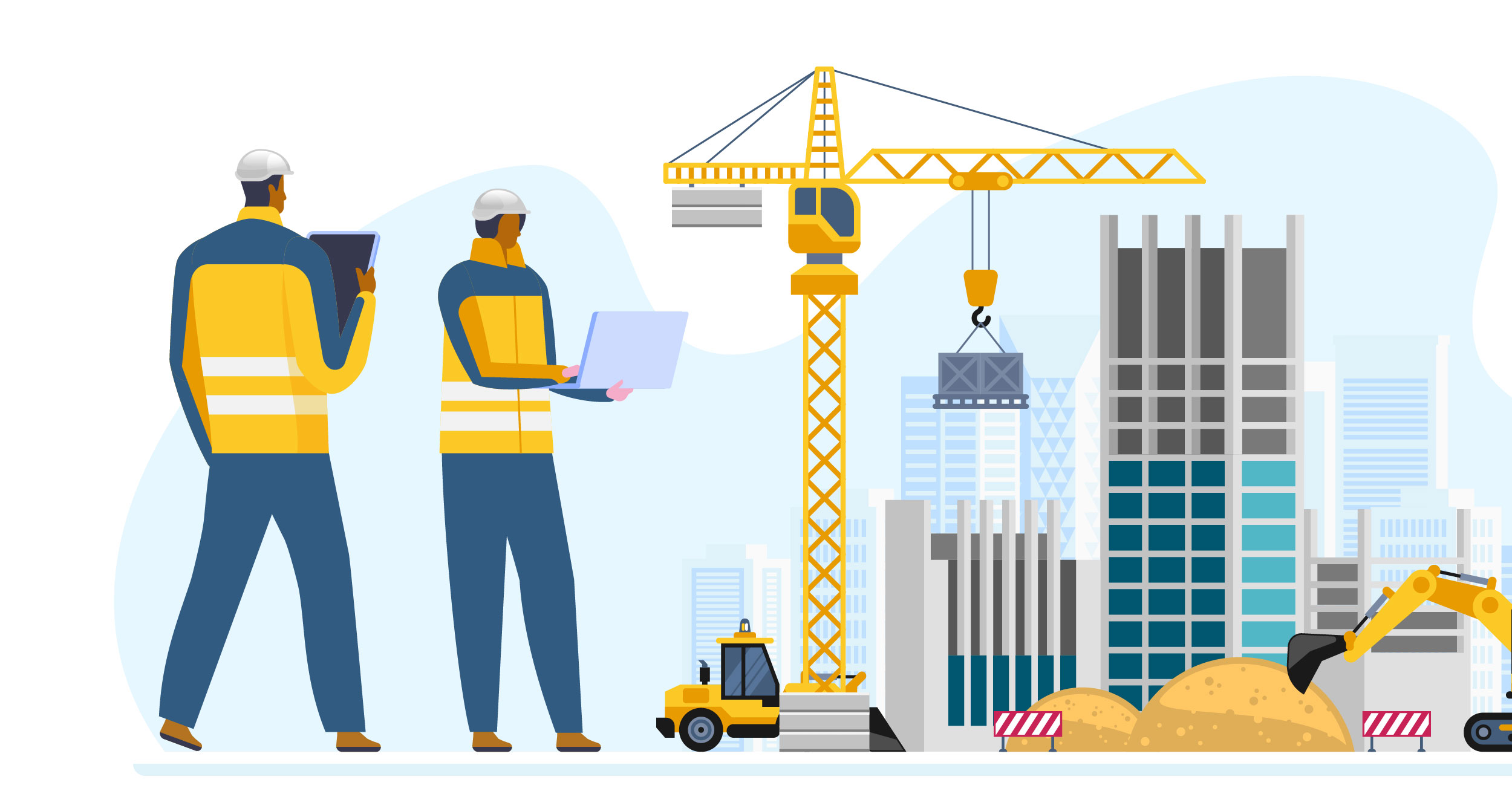 Construction daily reports application
