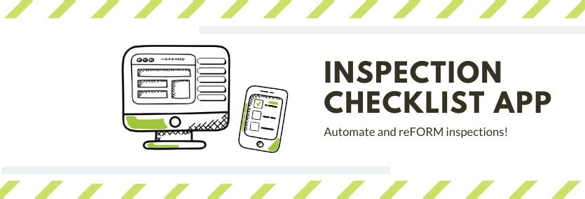 Inspection checklist app with Kizeo Forms