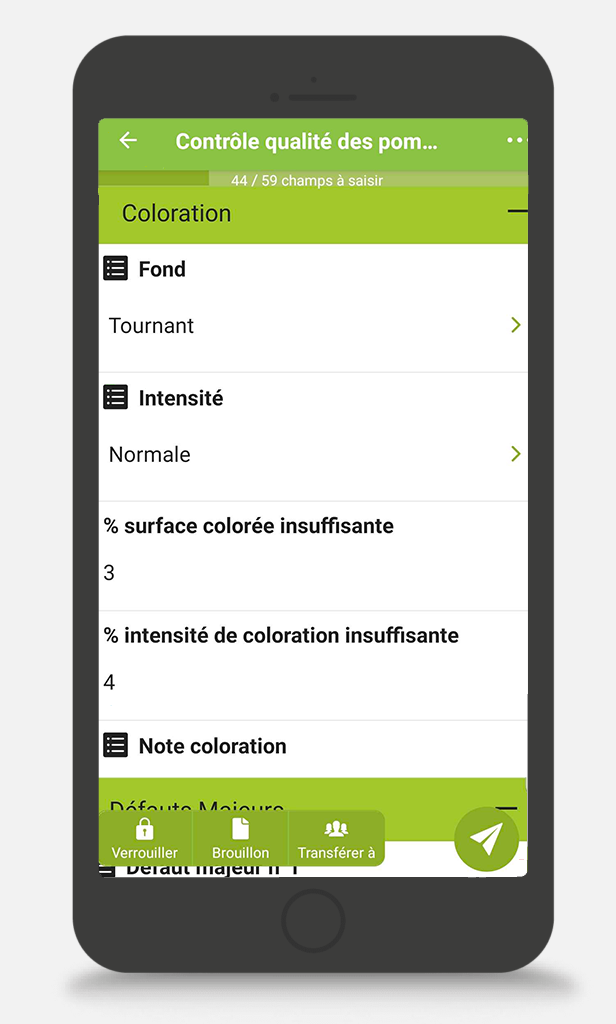 L'application de suivi de culture