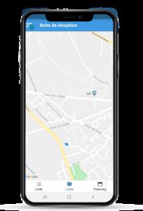 Géolocalisation automatique