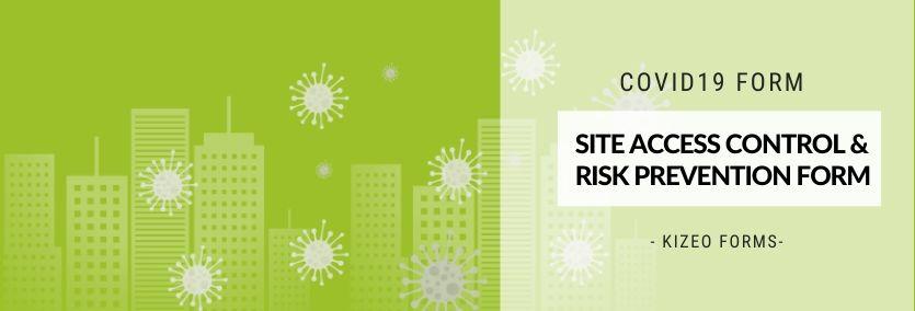 COVID19 Site access control and risk prevention form
