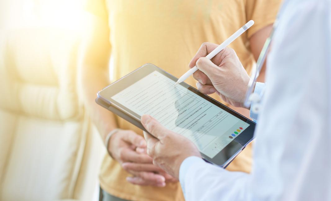 Kizeo Forms healthcare visit app