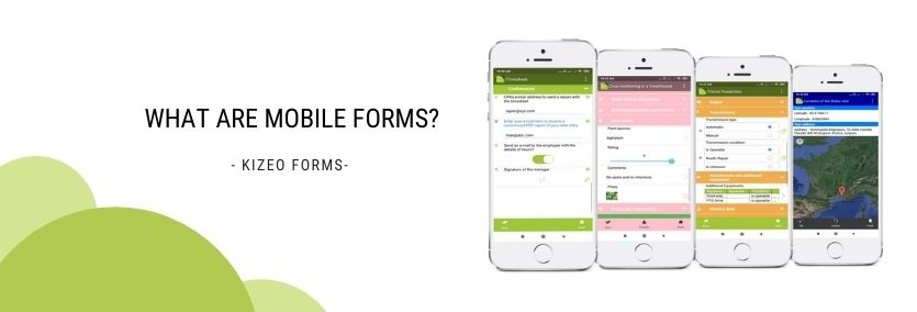 what are mobile forms? kizeo forms