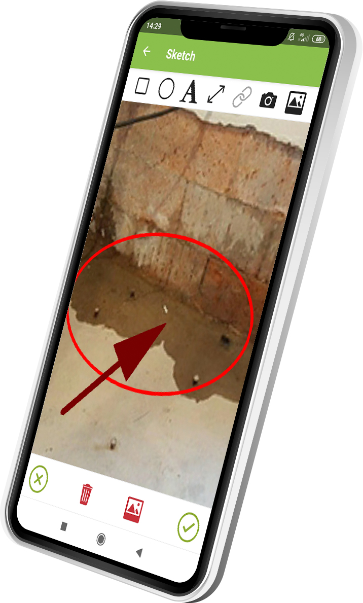 waterproofing inspection app