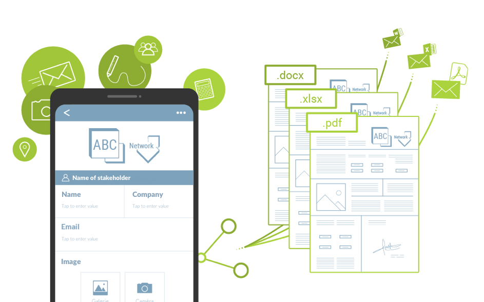 mobile forms automation stakeholders