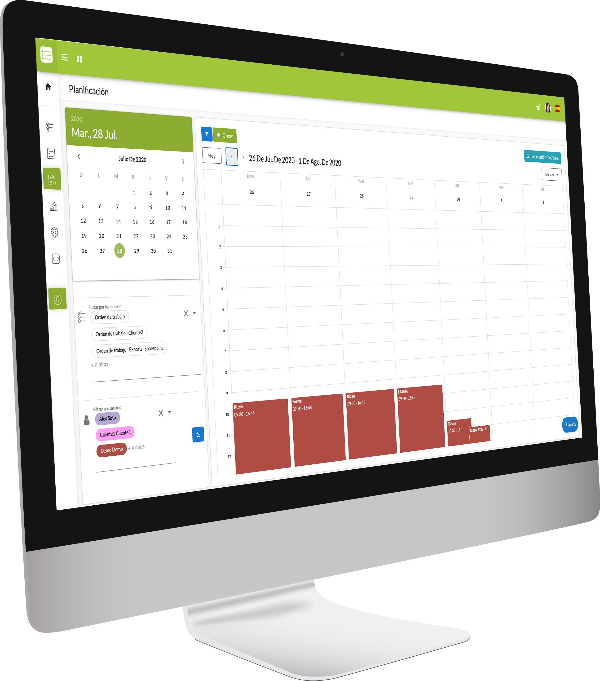 app de construccion kizeo forms plataforma web