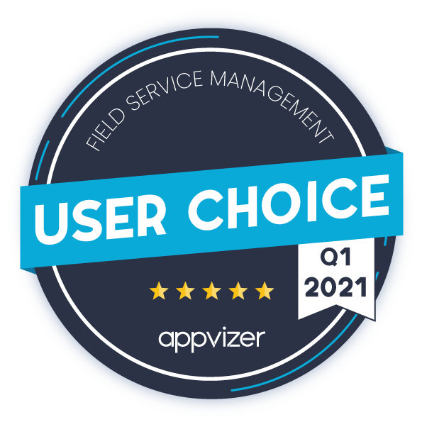 appvizer field service management 2021 badge